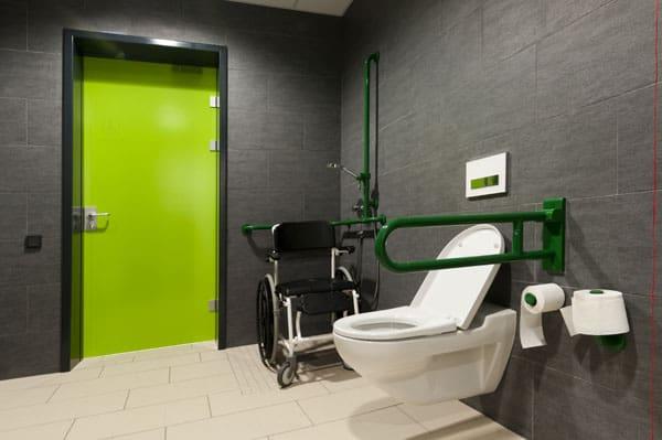 Oklahoma Bath Pros ADA Compliant Restroom Install