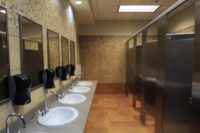 commercial bathroom remodel Lavatory sinks